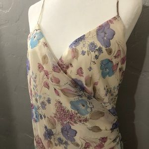 NY & Company High Low Floral chiffon Dress LNC